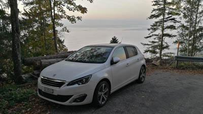 Peugeot 308 autom toit panoramique sièges cuir